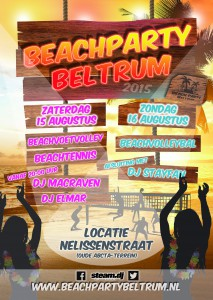 Poster_Beach Party Beltrum 2015 A3 klein